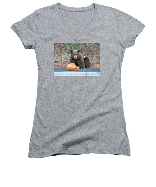 Taste Of The Wild Women's V-Neck T-Shirt
