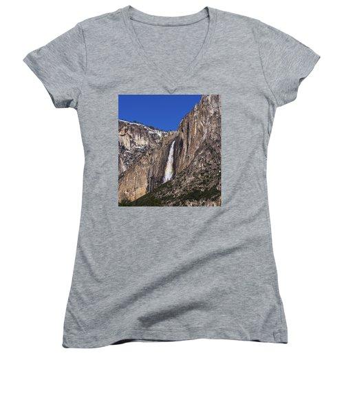 Taste The Rainbow Women's V-Neck T-Shirt (Junior Cut) by Alpha Wanderlust