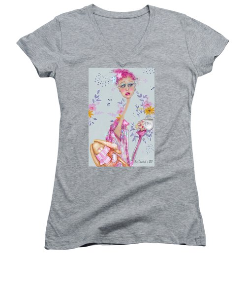 Tea For Me Women's V-Neck (Athletic Fit)