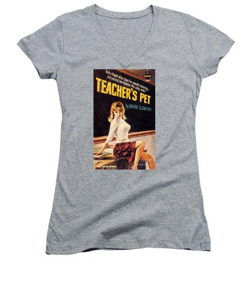 Teacher's Pet Women's V-Neck