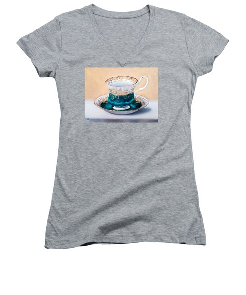 Teacup Women's V-Neck (Athletic Fit)