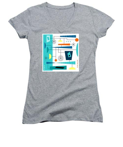 Tempo Women's V-Neck T-Shirt (Junior Cut) by Tara Hutton