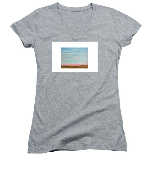 Terraced By Nature Women's V-Neck T-Shirt