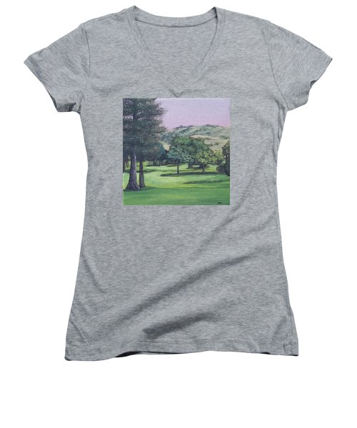 The Villages 1 Women's V-Neck (Athletic Fit)