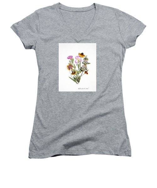 Texas Hill Country 1 Women's V-Neck T-Shirt