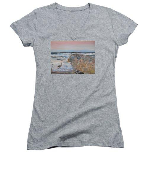 Texas - Padre Island Women's V-Neck T-Shirt
