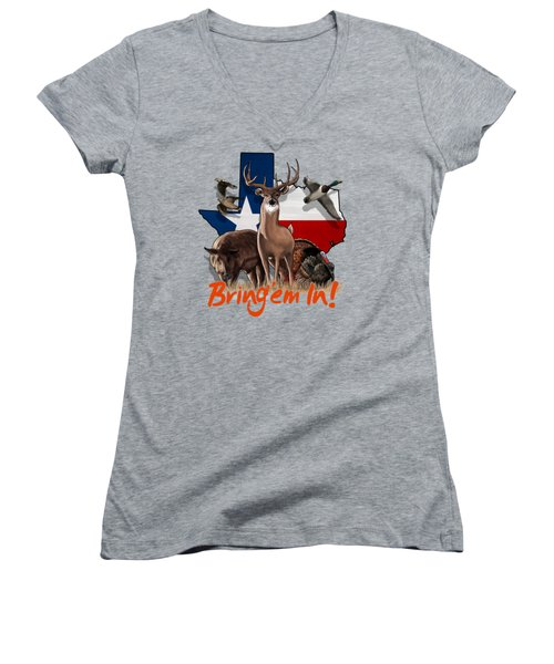 Texas Total Package Women's V-Neck (Athletic Fit)