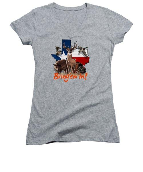 Texas Total Package Women's V-Neck T-Shirt