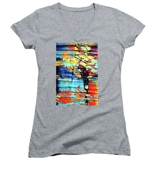 Women's V-Neck T-Shirt (Junior Cut) featuring the photograph That Beauty You Possess by Danica Radman