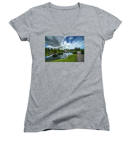 That Prairie Sky Women's V-Neck