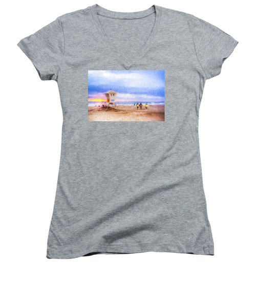 That Was Amazing Watercolor Women's V-Neck
