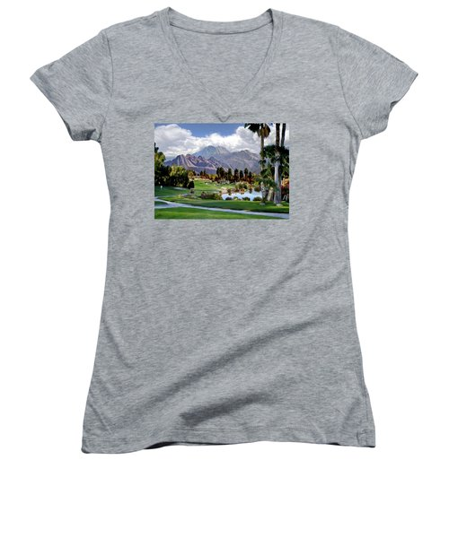 The 5th At Woodhaven Women's V-Neck (Athletic Fit)