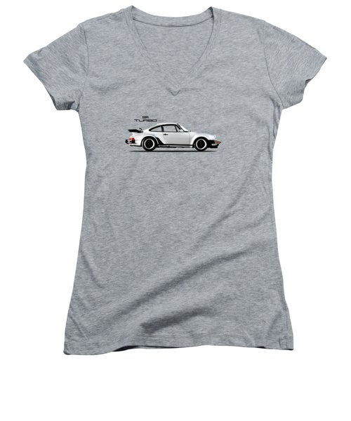 The 911 Turbo 1984 Women's V-Neck (Athletic Fit)