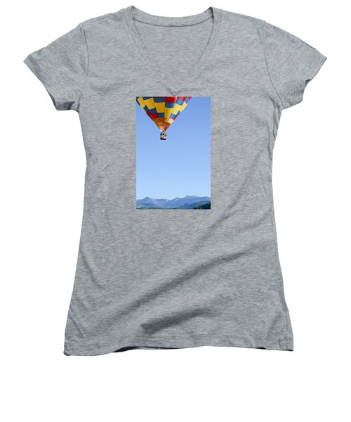 The Air Up There... Women's V-Neck (Athletic Fit)