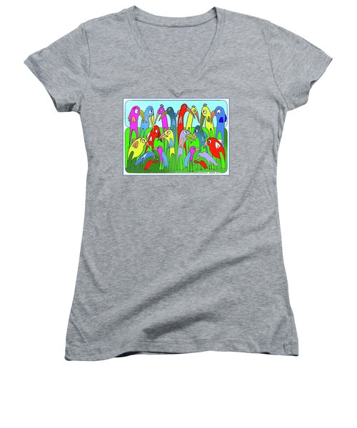 The  Annual General Meeting Women's V-Neck