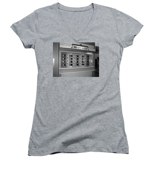 The Automat Women's V-Neck T-Shirt (Junior Cut)