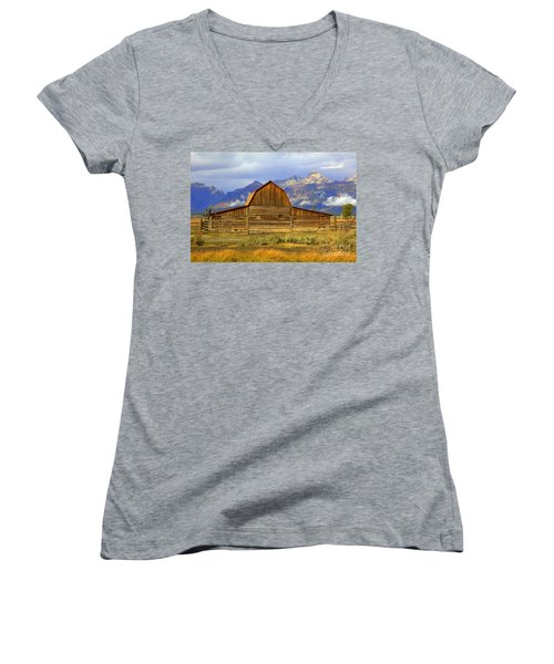 The Barn Women's V-Neck