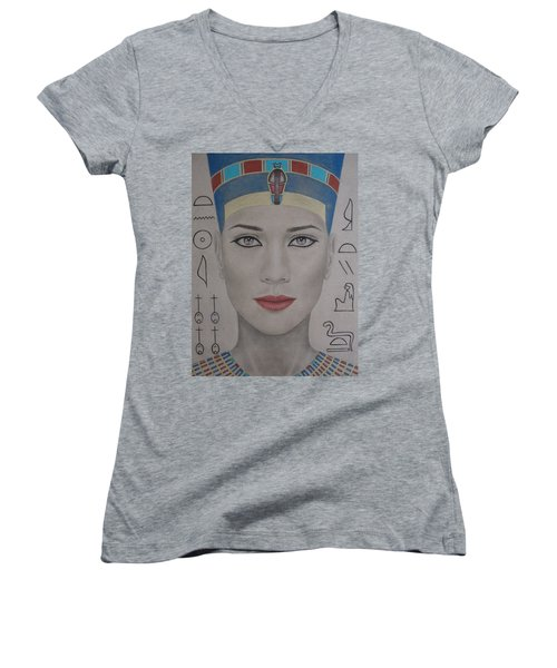 The Beautiful One Has Come Women's V-Neck T-Shirt