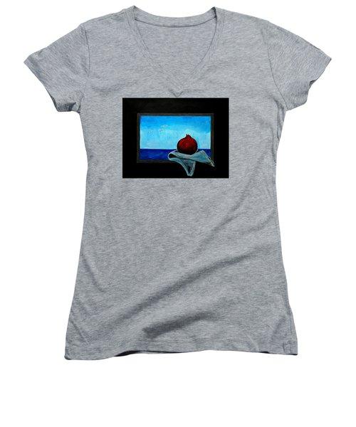 The Beauty Of Simplicity Women's V-Neck T-Shirt