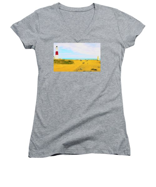 The Bill Women's V-Neck T-Shirt (Junior Cut)