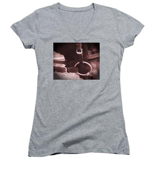 The Bit Women's V-Neck T-Shirt