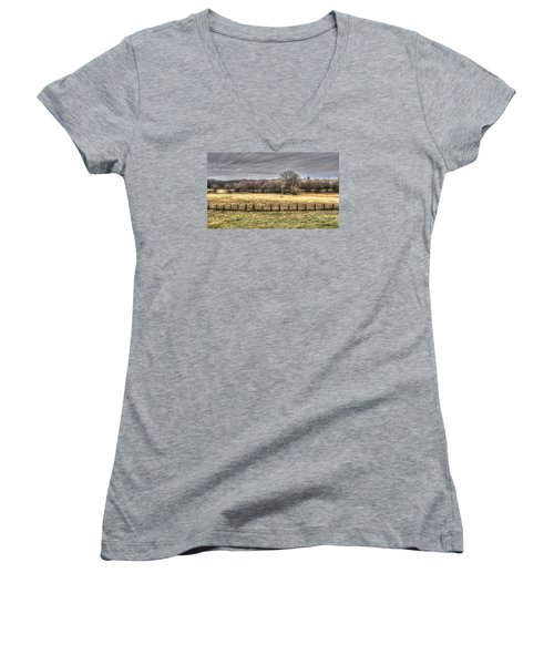 The Bleak Season Women's V-Neck T-Shirt