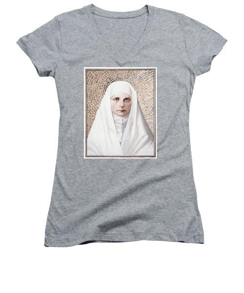 The Blessed Virgin Mary - Lgbvm Women's V-Neck