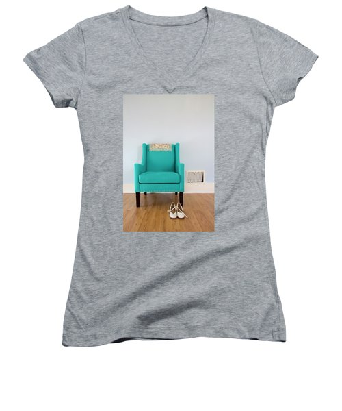 The Blue Chair Women's V-Neck (Athletic Fit)