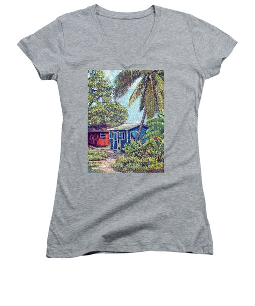 The Blue Cottage Women's V-Neck (Athletic Fit)