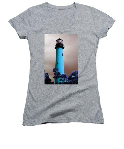 The Blue Lighthouse Women's V-Neck