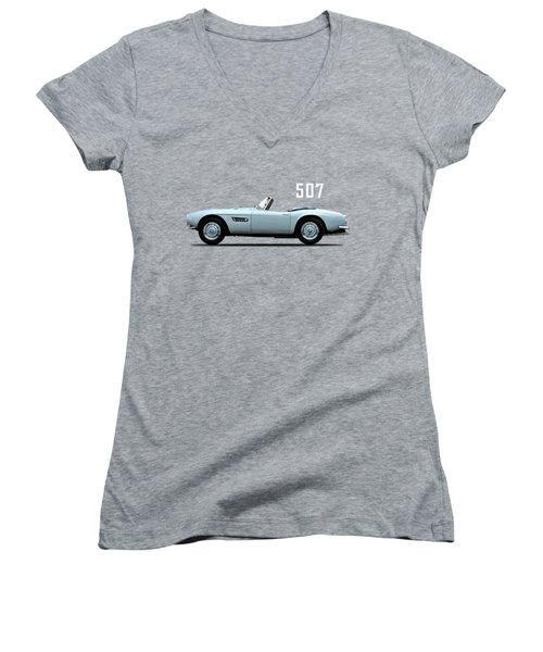 The Bmw 507 Women's V-Neck T-Shirt