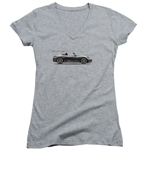 The Boxster Women's V-Neck (Athletic Fit)