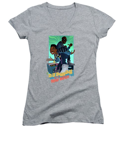 The Brand New Funk Women's V-Neck (Athletic Fit)