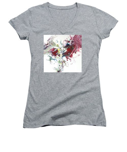The Breath Of The Crimson Dragon Women's V-Neck