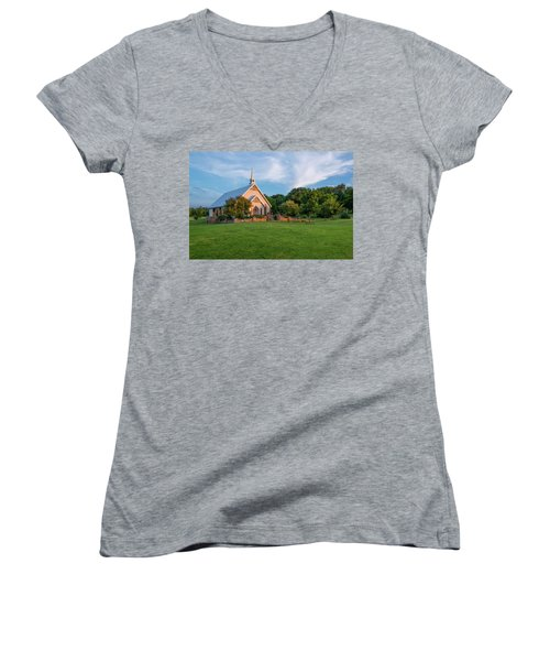 The Brooks At Weatherford Wedding Chapel Women's V-Neck