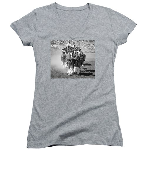 The Budweiser Clydesdales Women's V-Neck