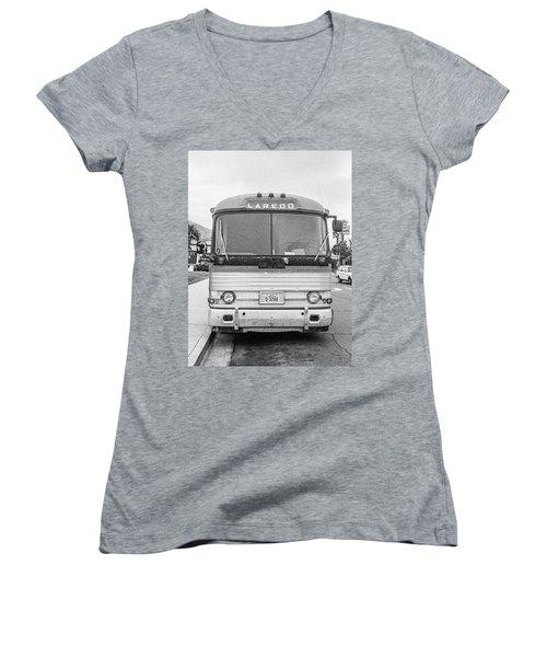 The Bus To Laredo Women's V-Neck