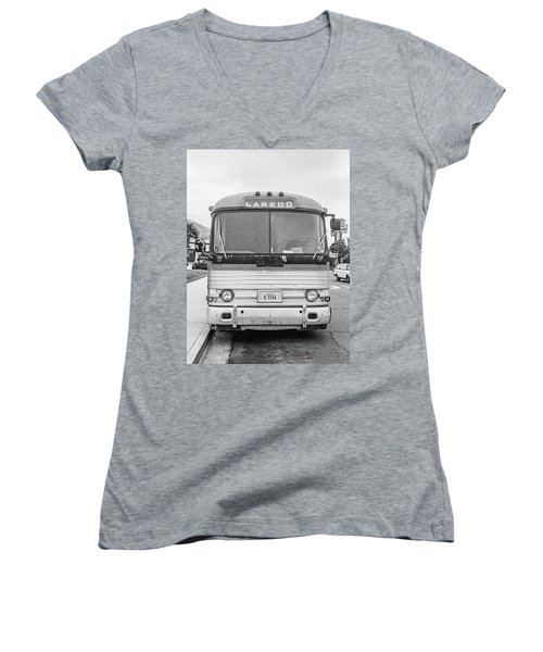 The Bus To Laredo Women's V-Neck (Athletic Fit)