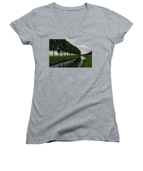 The Canal Women's V-Neck