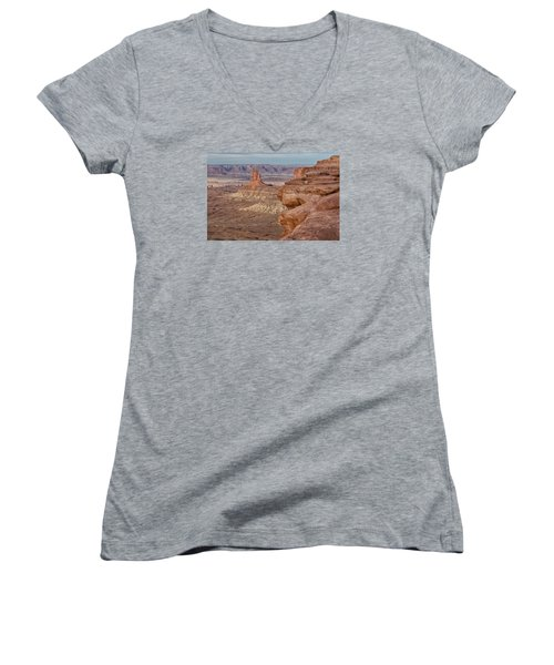 The Candlesticks II Women's V-Neck (Athletic Fit)