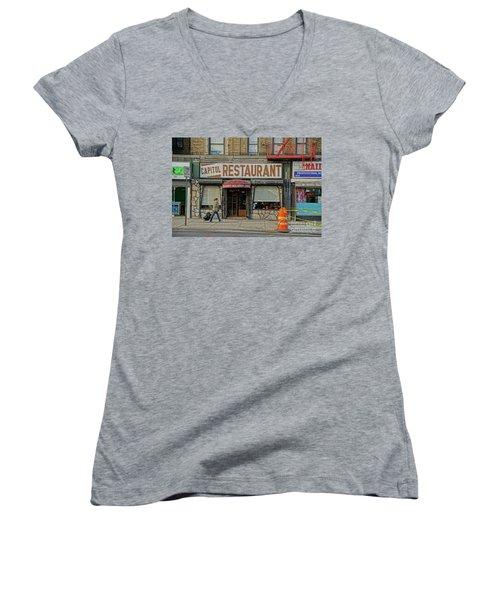 The Capitol Women's V-Neck T-Shirt