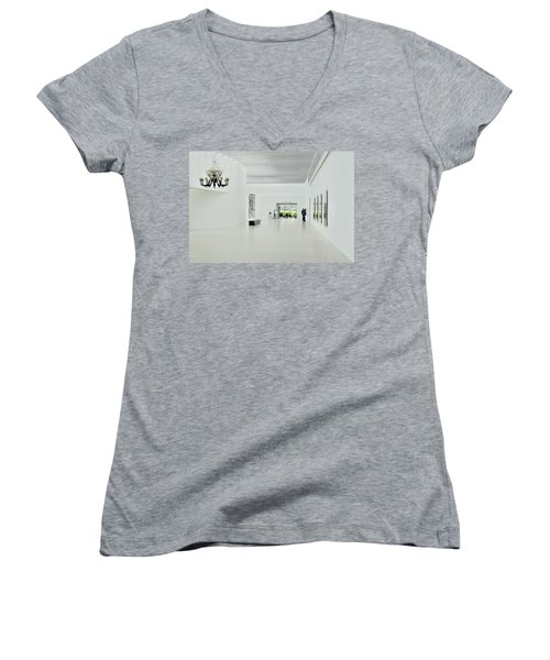 The Chandelier Women's V-Neck (Athletic Fit)