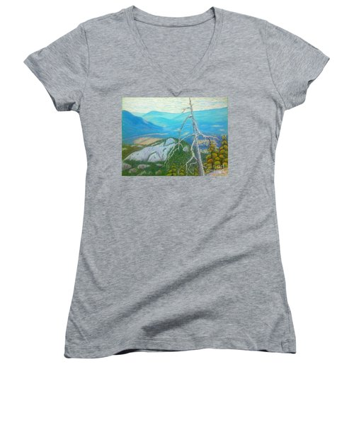 The  Chief  Women's V-Neck T-Shirt (Junior Cut) by Rae  Smith