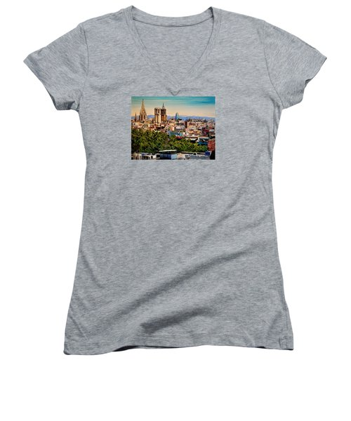 The Church's Of Barcelona Women's V-Neck (Athletic Fit)