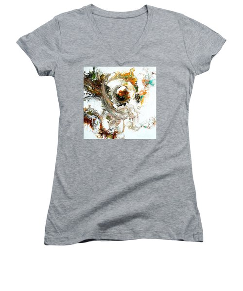 The Circle Of Life Women's V-Neck (Athletic Fit)