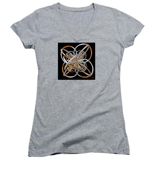 The Classical Model Women's V-Neck T-Shirt