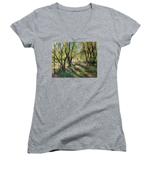 The Clearing Women's V-Neck T-Shirt