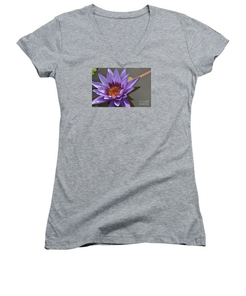 The Color Purple Women's V-Neck (Athletic Fit)