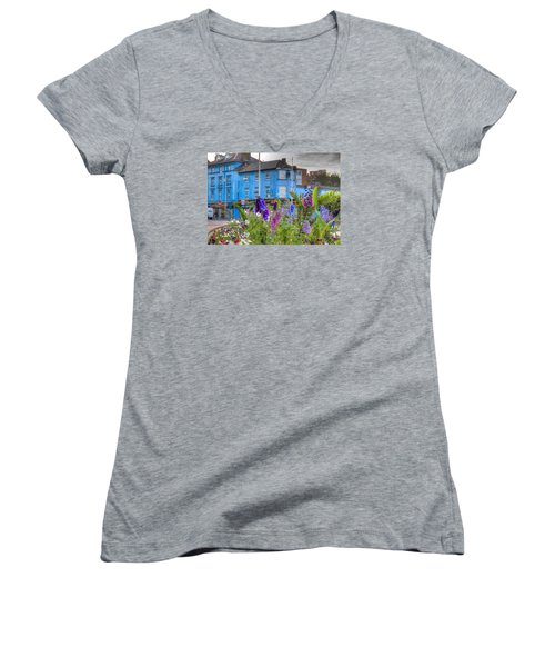 The Colors Of Europe Women's V-Neck