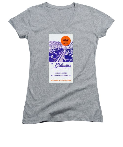 The Columbian Women's V-Neck (Athletic Fit)
